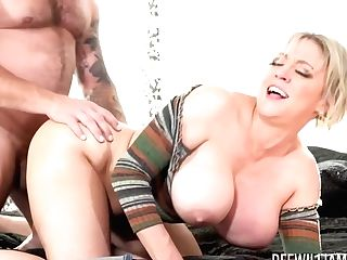 Dee Williams Is A Big Titted, Blonde Woman Who Wants A Good Fuck In The Late Afternoon