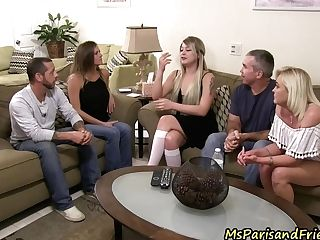 Family Debate Or Just An Excuse For An Orgy?