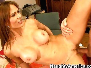 Promiscuous Monique Fuentes Fucks On Cabenet's Table