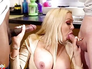 """""""nubile Gets Caught By Her Mum And Cheating Mummy Sneaky Bang-out With Big Black Cock"""""""