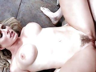 Mom Blonde Cory Chase Bone In Black Sundress