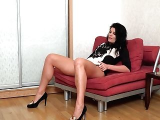 Lonely Mommy Milena Is Masturbating Humid Labia And Dreaming Of Your Big Hard Dick