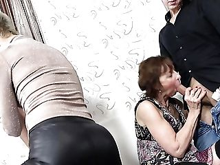 Perverted Matures Whores Contest In Providing A Truly Solid Oral Jobs To Studs